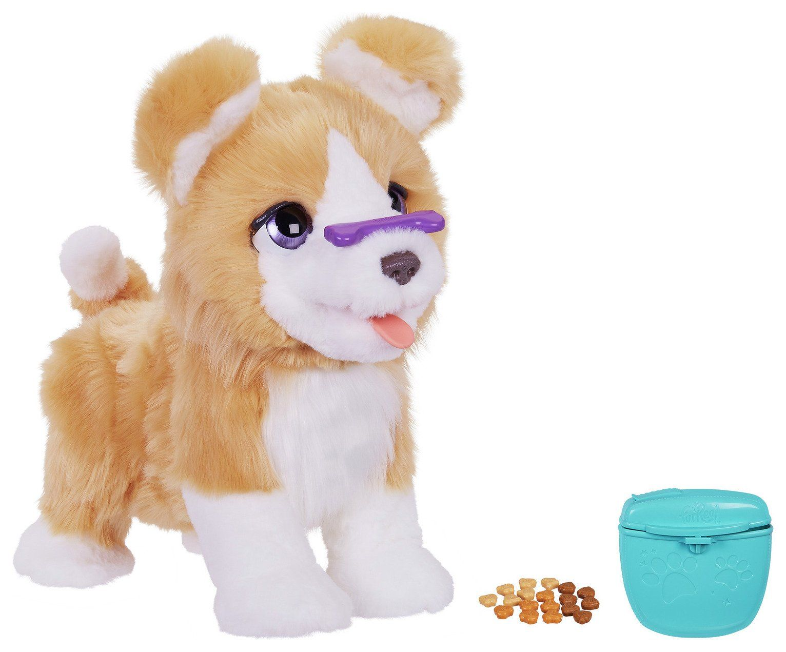 Furreal Lexie The Trick Lovin Pup In 2020 Interactive Puppy Interactive Dog Toys Animals For Kids