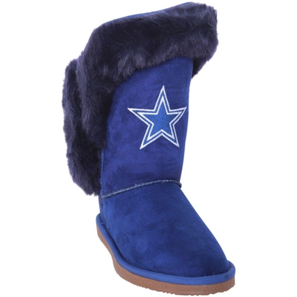c1c3310f4 Women s Dallas Cowboys Cuce Navy Blue Champions Boots