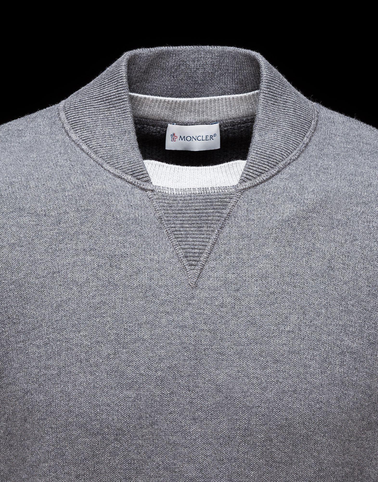 3978438034c7 MONCLER COLLAR Sportswear Man, Sweat Shirt, Polo Shirt, Men Design, Men s  Sweaters