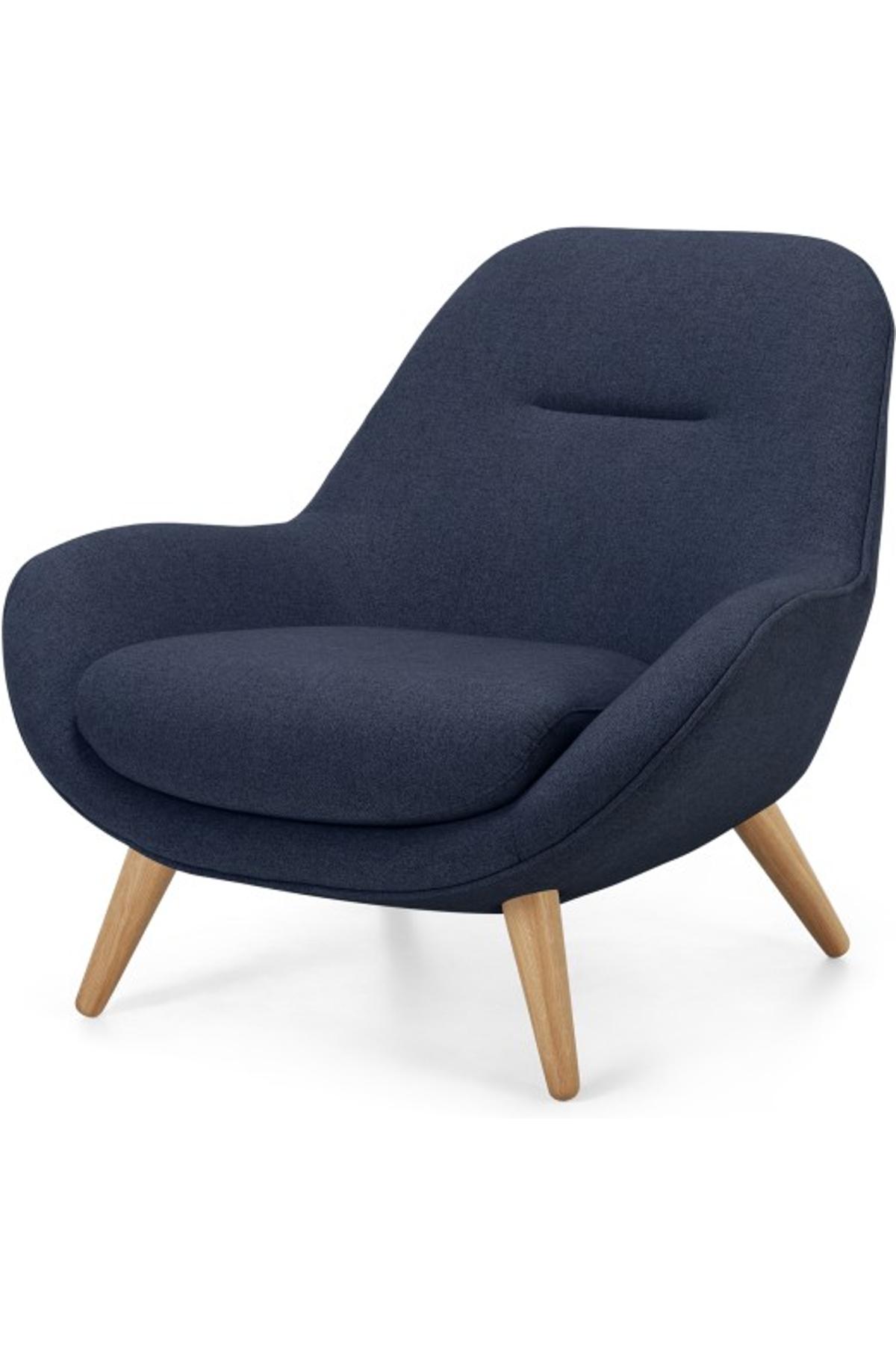 Best Karmello Accent Armchair Flavio Blue Accent Arm Chairs 400 x 300