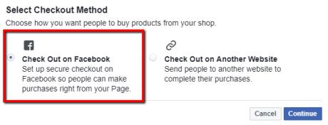 Facebook Shop - Checkout Method Settings   Blogs   Pinterest