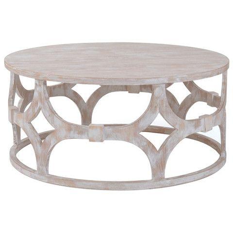 White Wash Coffee Table Coffee Table Wood Coffee Table White Round Wood Coffee Table