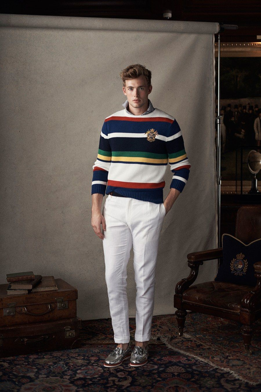 ... fashion game. Polo Ralph Lauren Spring 2019 Menswear collection bf41d8f93340e