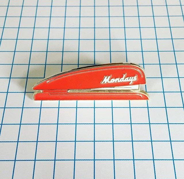 'Mondays Stapler' Pin By Jenni's Prints