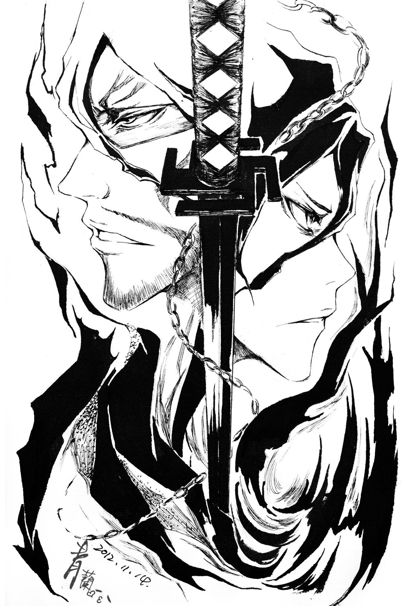 ichigo's sword is awesome Bleach anime, Bleach