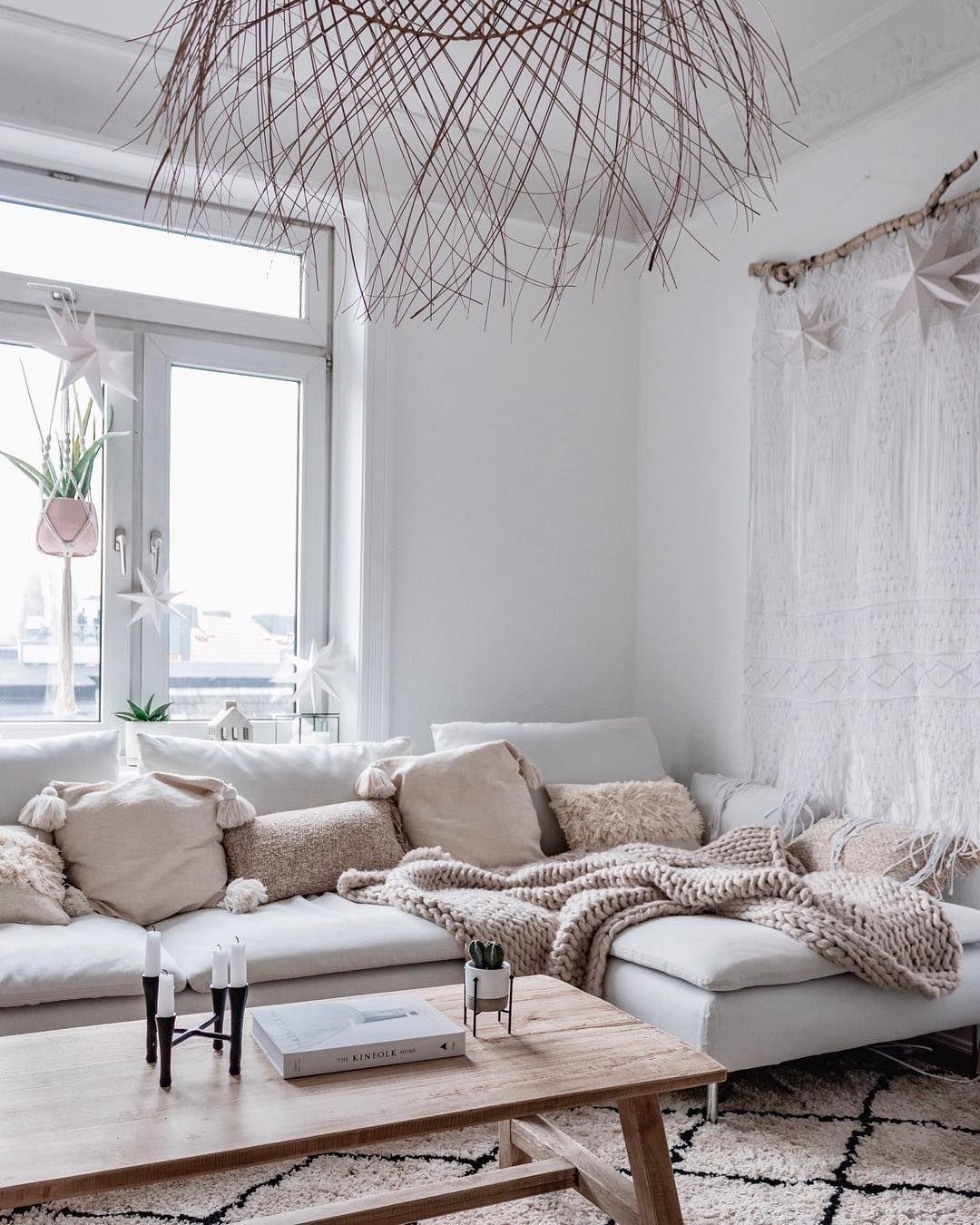Gemutlichstes Soderhamn Sofa Von Ikea Ikea Living Room Boho Living Room Living Room Inspiration