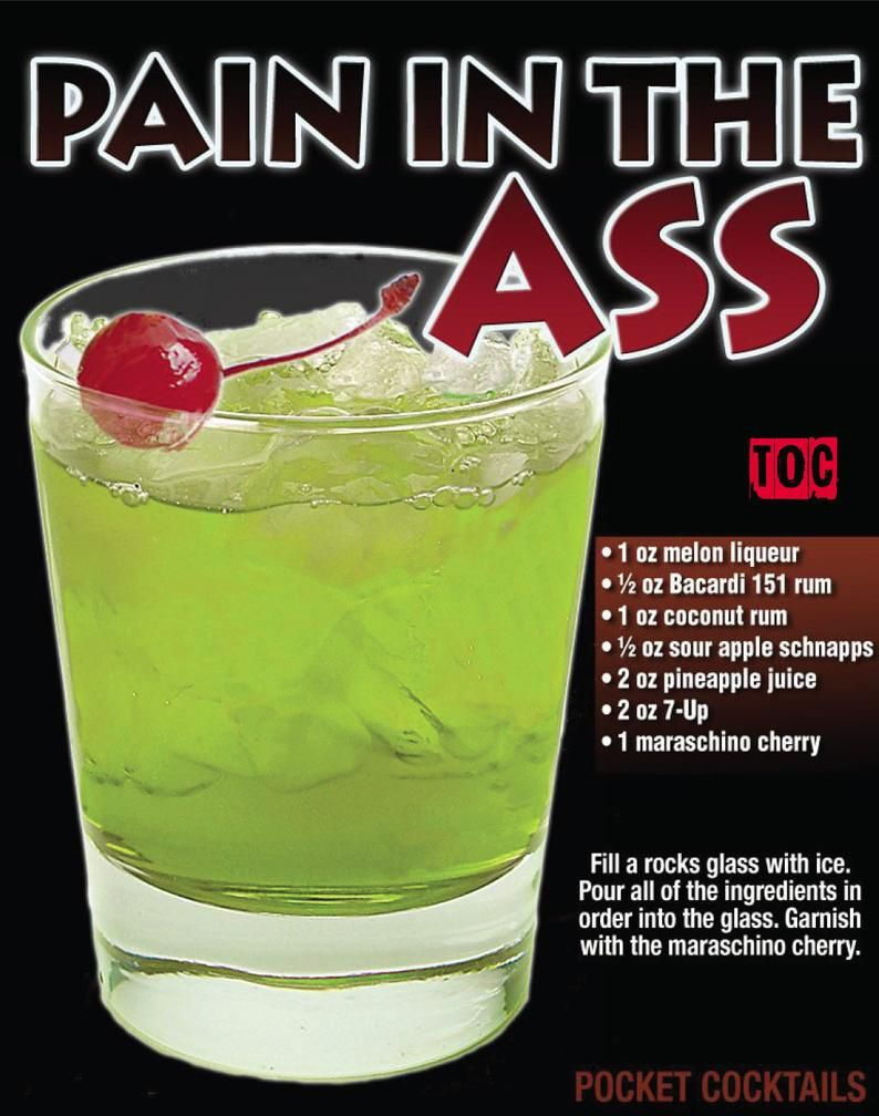 X-Rated Cocktails Book and Poster