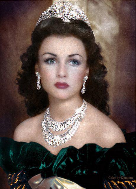 Photo of Fawzia Fuad of Egypt