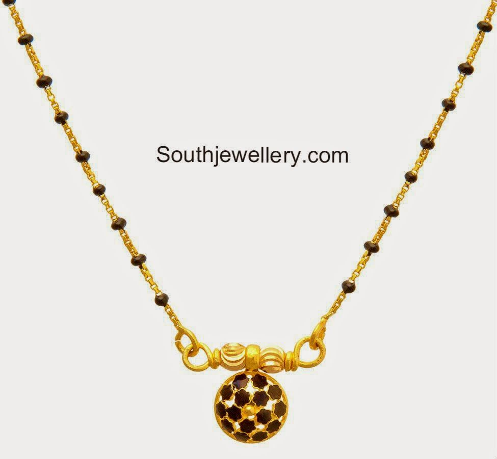 light weight black beads chains | Gold:jewellery n art pieces ...