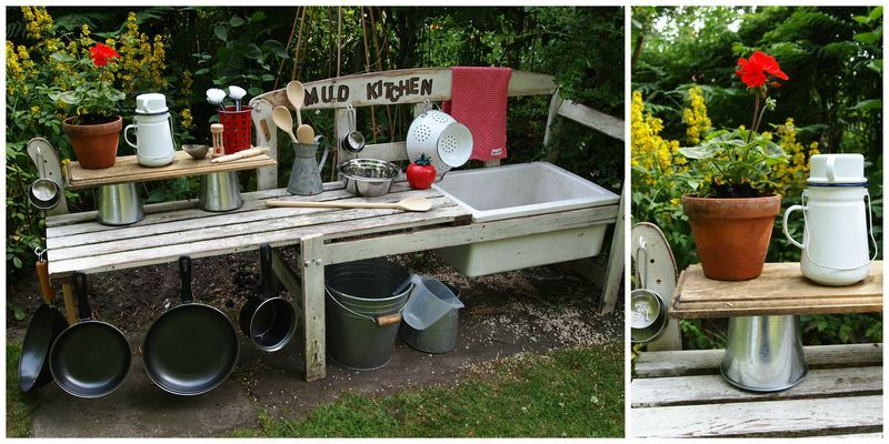 How To Make A Mud Kitchen Even Older Kids Would Really