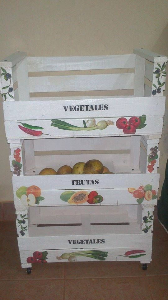 Cajones para frutas y verduras cajones cajones para - Cajones de madera para frutas ...