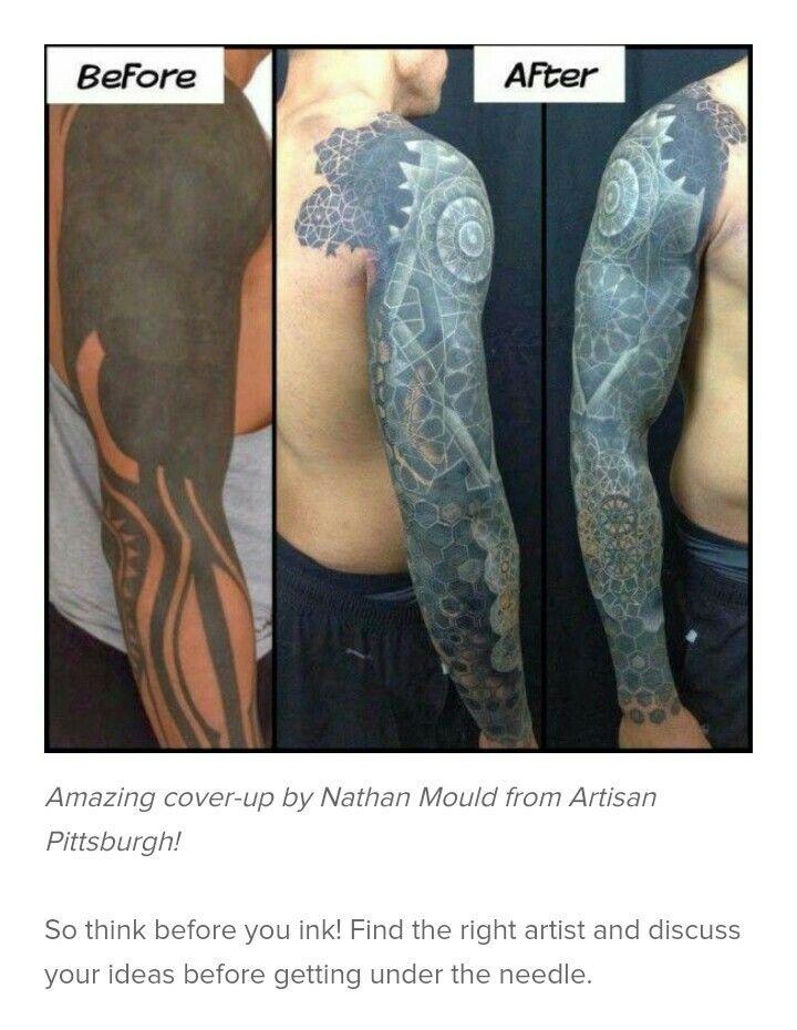 Tattoo Cover Up Tattoos Uberdecken Cover Up Schwarze Tattoos