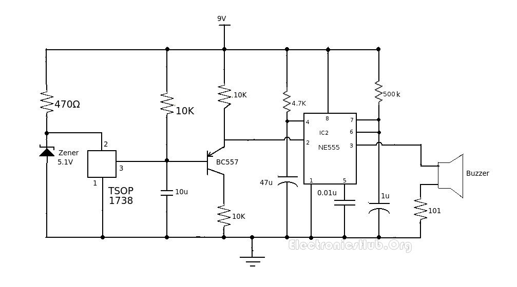 Electric Solid State Radio Clock Alarm Moreover Ge Wiring Diagram ...