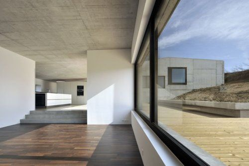 neubau einfamilienhaus | living ~ moos giuliani herrmann architekten