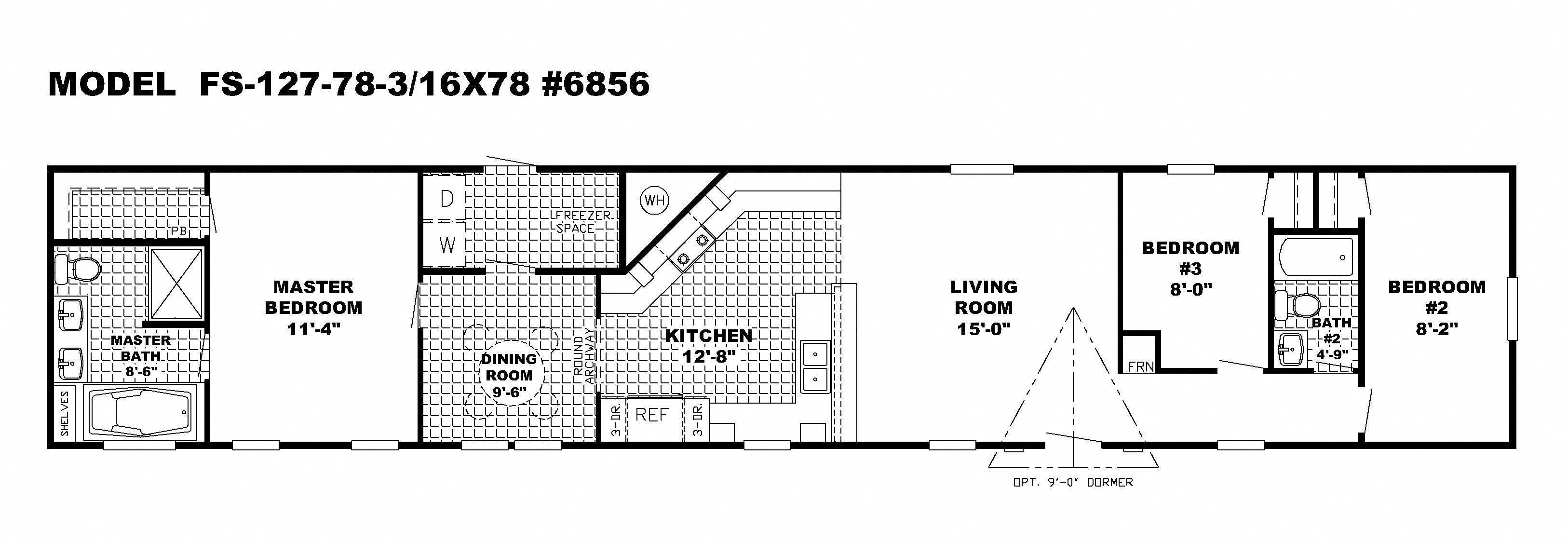 Floor Plans Mobile Homes Single Widesingle Wide Mobile Home Floor Plans Skyline Single Wide Mobile Home Floor Plans Single Wide Mobile Homes House Floor Plans