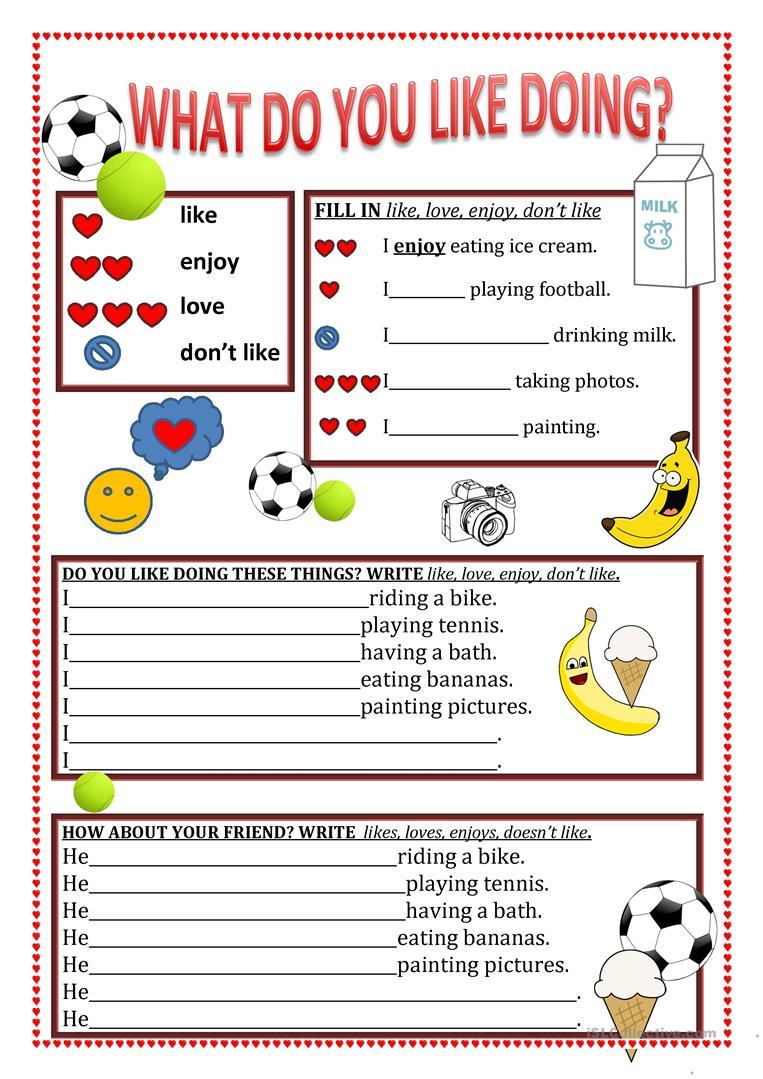 illustrated buying food conversation for kids worksheet
