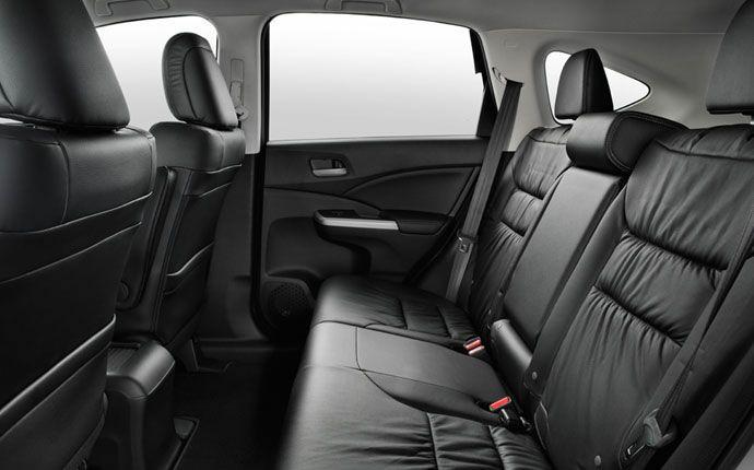 Crv Backseat Honda Cr Honda Interior Photo