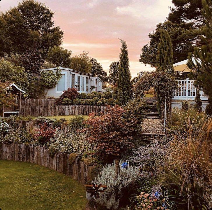 Der Hanggarten #schnellwachsendepflanzen