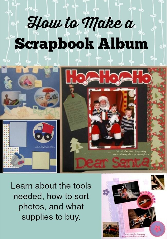 How To Make A Scrapbook Album Scrapbooking Journals And Planners