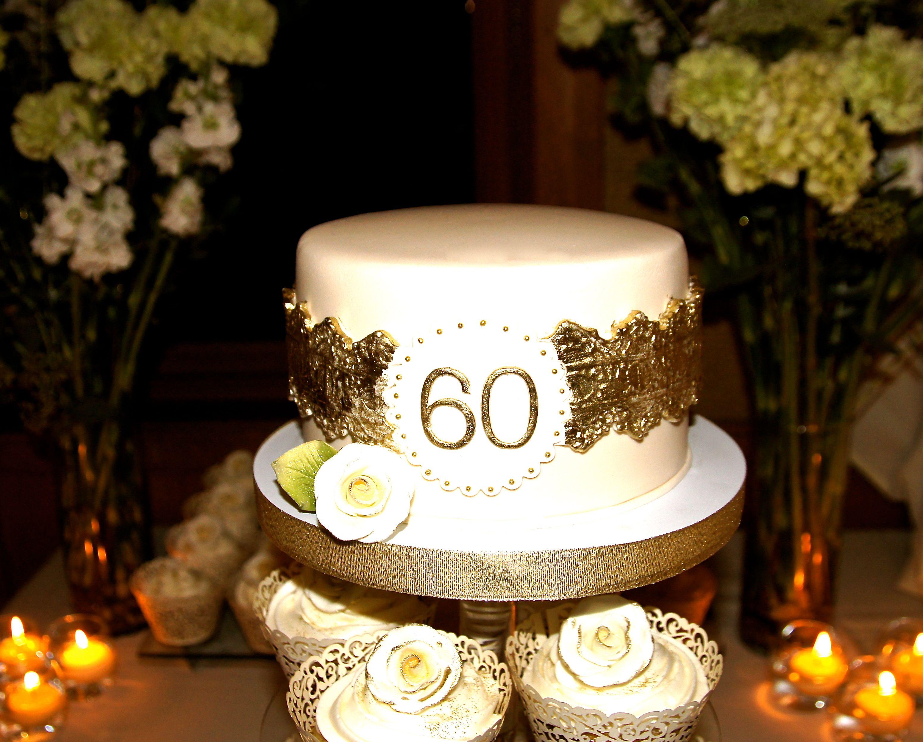 60 Years Birthday Cake Cake Pinterest