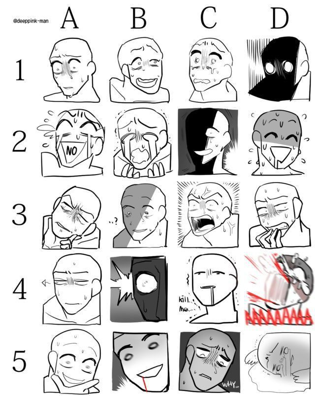 Drawing Facial Expression In 2020 Drawing Meme Drawing Face Expressions Drawing Expressions