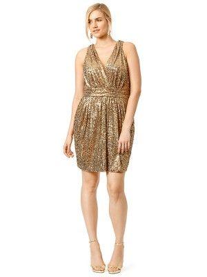 Sheath Column V Neck Sleeveless Short Mini Sequins Plus Size Prom