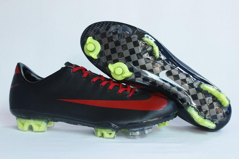 promo code fa20b 9ce5e Nike Mercurial Vapor Superfly III 3 FG Black Red Green Soccer Shoes