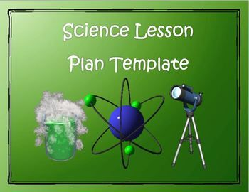 Lesson Plan Template  Science  Editable    Science  Ideas     This item is a simple Science lesson plan template that includes a number  of text boxes with headings and subheadings that correspond to Science  planning