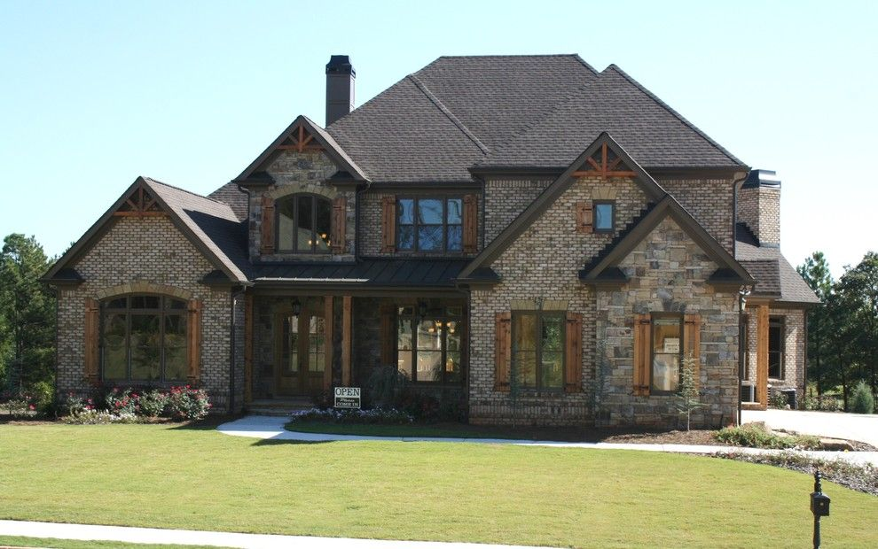luxury european style homes traditional exterior atlanta alex custom homes llc