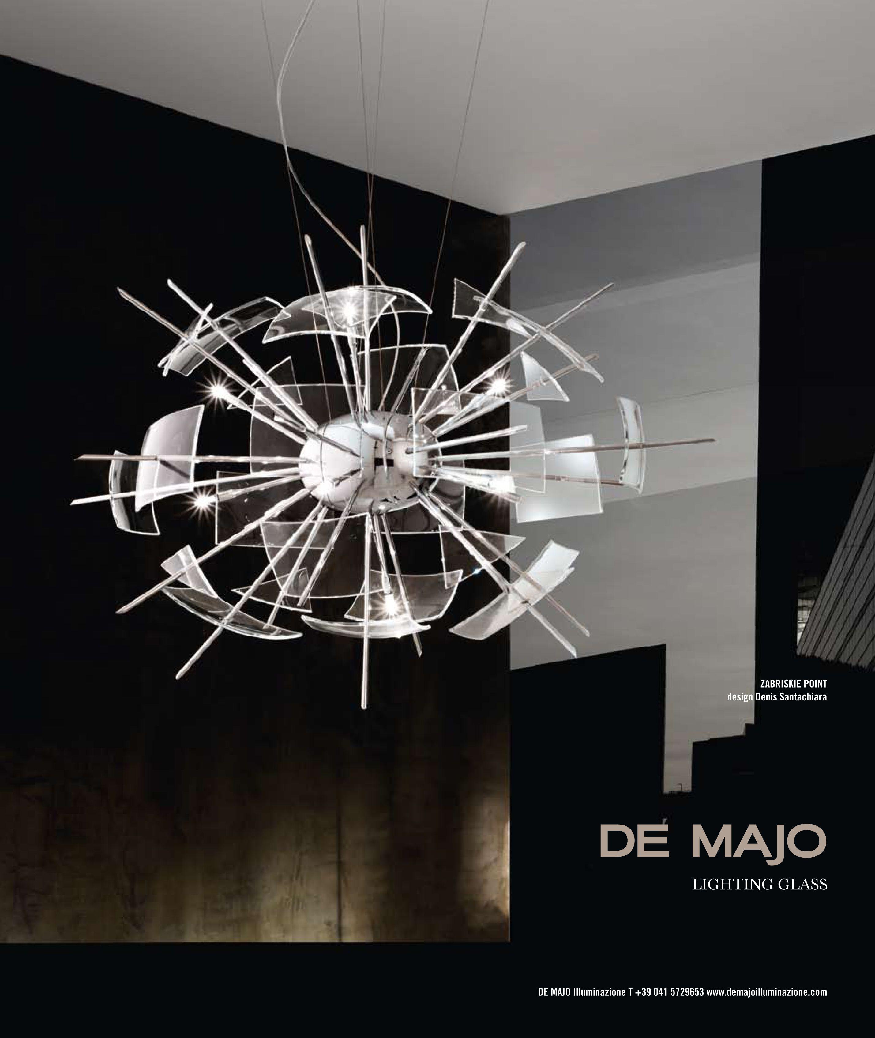 Advertising Campaigns On Murano Chandeliers De Majo