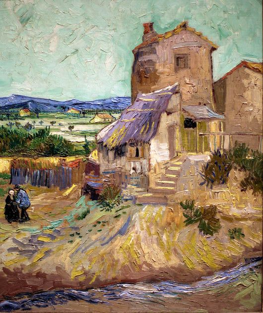 La Maison De La Crau (1888) by Vincent Van Gogh Van Gogh
