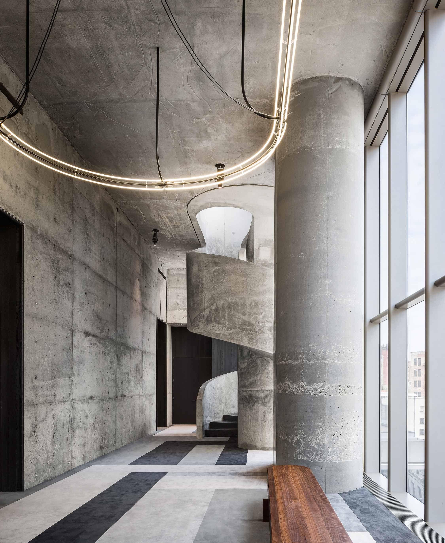 Top notch Herzog & de Meuron reveal interiors at 56 Leonard in