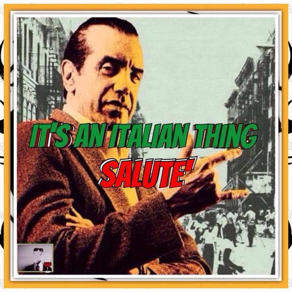 salute italian