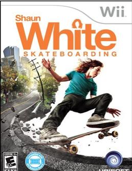 Shaun White Skateboarding Video Game For Nintendo Wii Shaun White Skateboarding Shaun White Shaun White Snowboarding