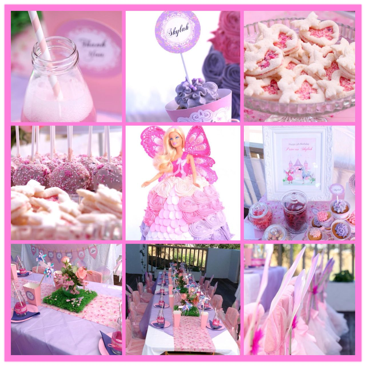 Enchanted Fairy Princess 5th Birthday Party Fairy Princess Party