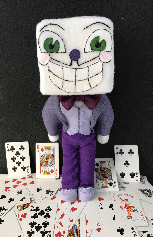 King Dice plushie (Cuphead) Fanmade Joker meme, Gambling