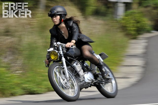 Motorcycle Girl 067 | Return of the Cafe Racers