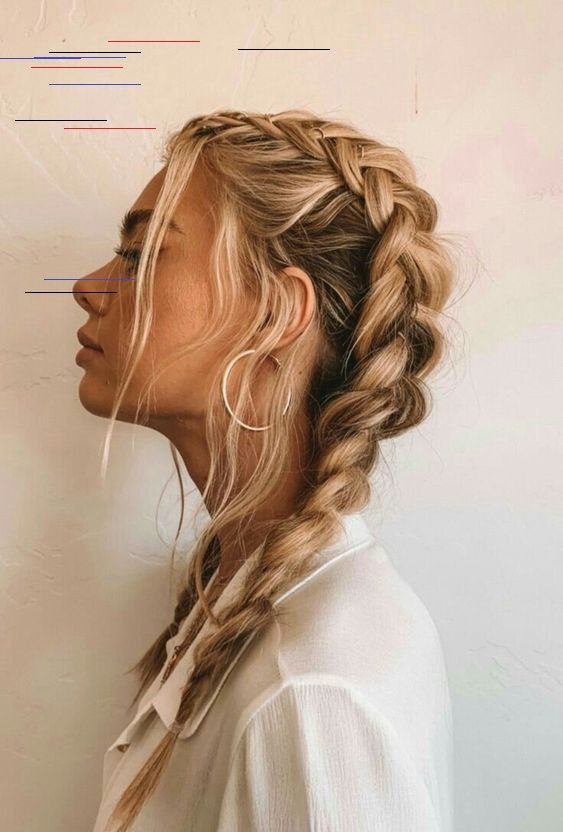 Tutoriales de peinado de primavera encantadora para el cabello largo ¿Qué tipo de cabello …