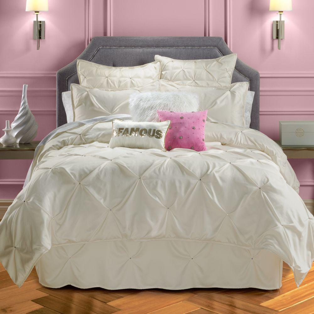 Juicy Couture Pinch Tuck Coverlet Collection | Bedding ...