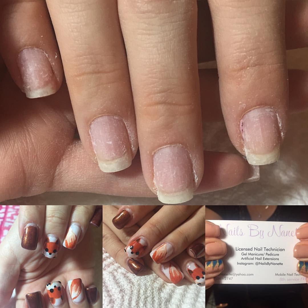 Alexandra Nanette Nailsbynanette Instagram Photos And Videos Natural Nails Nails Nail Art