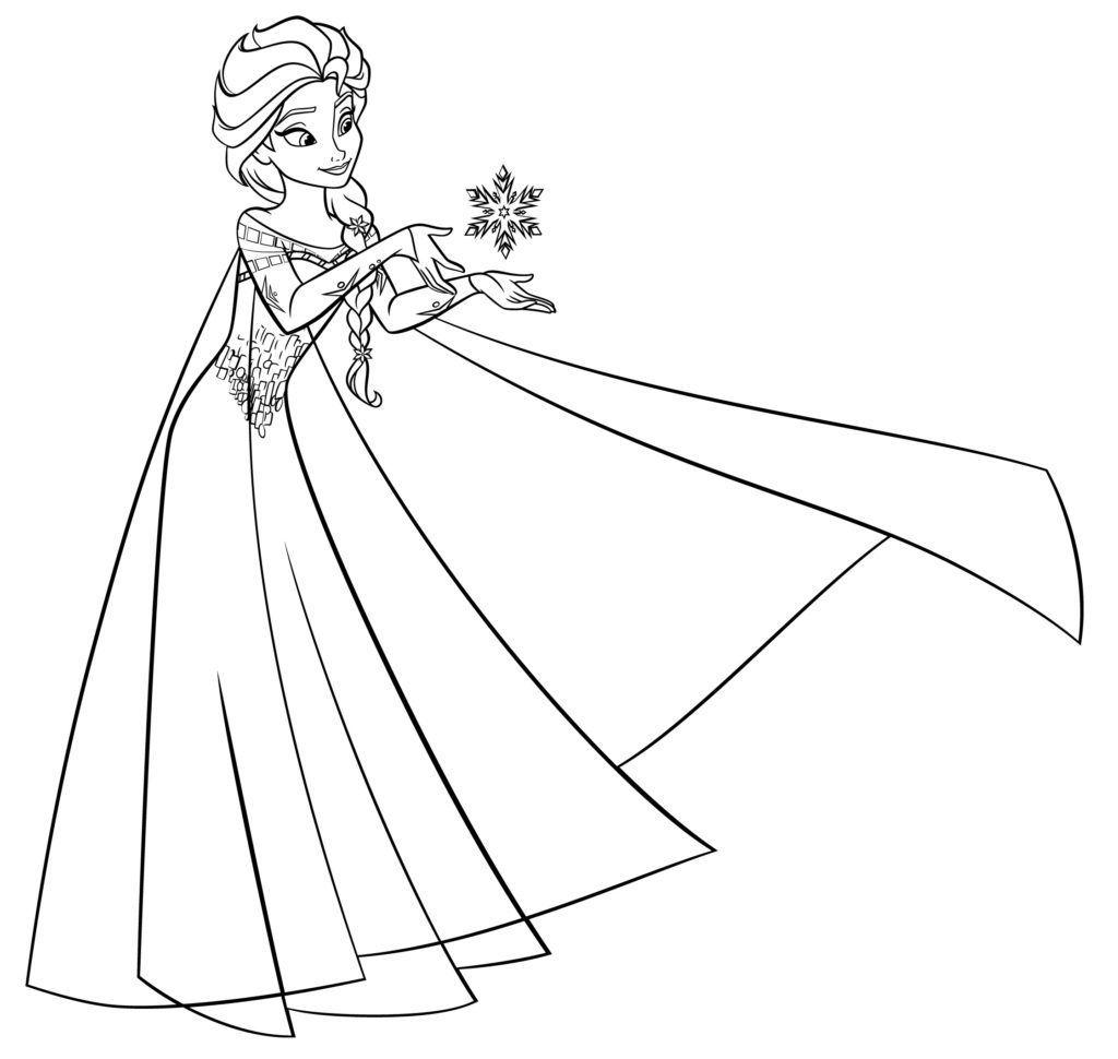 Desenhos Para Colorir Fronze Portal Escola Ensina  Frozen