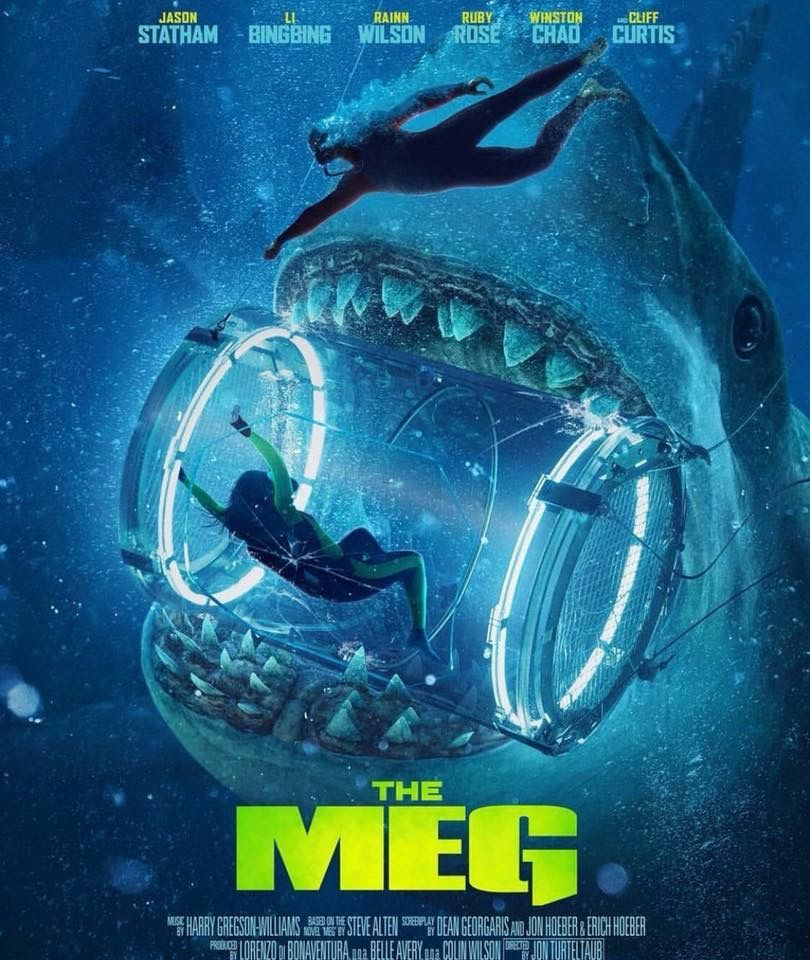 The Meg | Meg movie, 2018 movies, Halloween movies