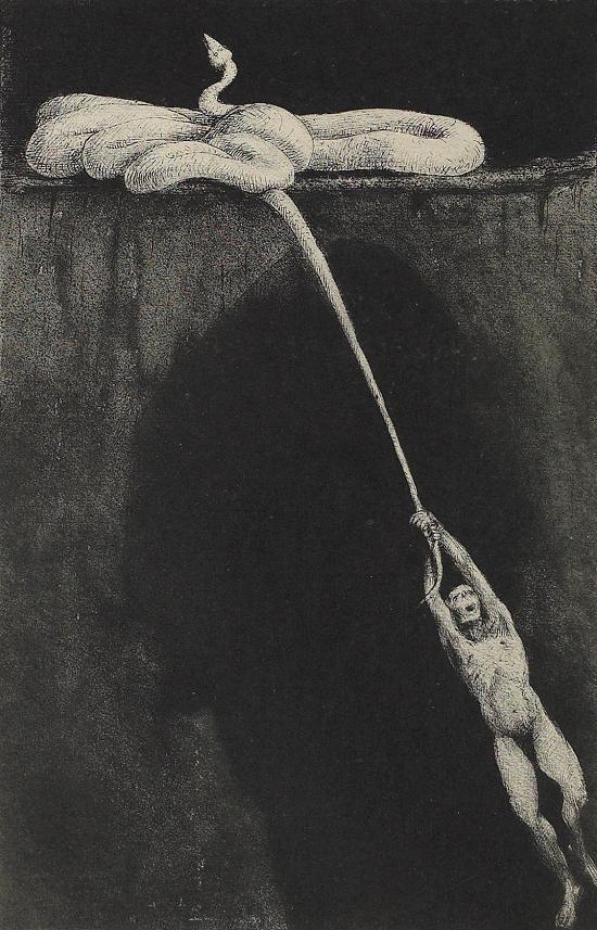 Alfred Kubin(Austrain, 1877-1959) - Pendulum (Pendel), N/D