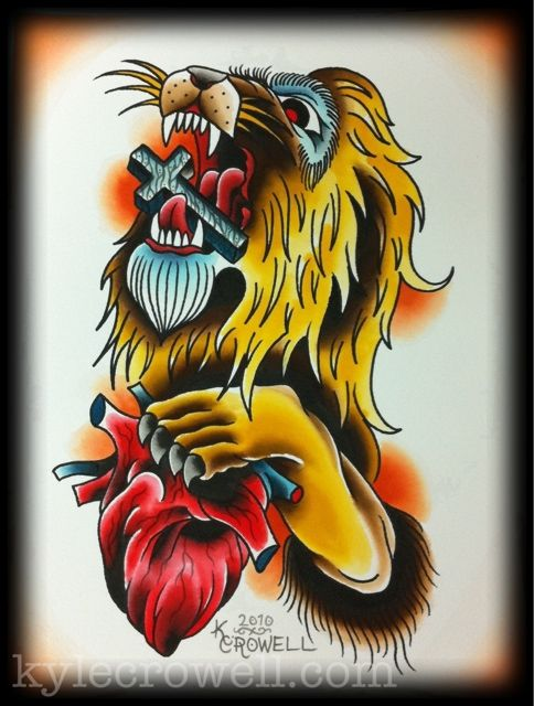 Traditional Lion Tattoo Lion Tattoo Picture Tattoos Lion
