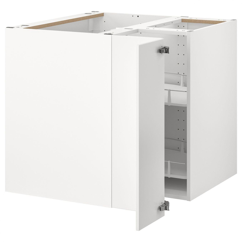 8 Meuble Bas 2 Portes Ikea In 2020 Corner Base Cabinet Base Cabinets Ikea