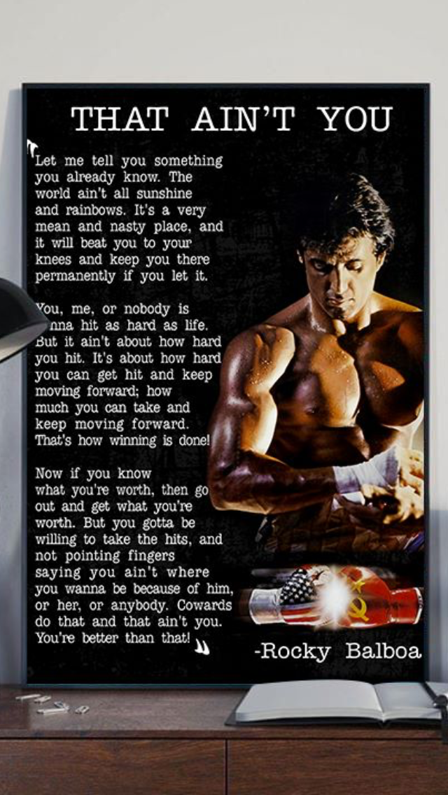 To My Boys Something To Think About And Remember To My Boys Something To Think About And Remember Boxing Quotes Rocky Quotes Warrior Quotes