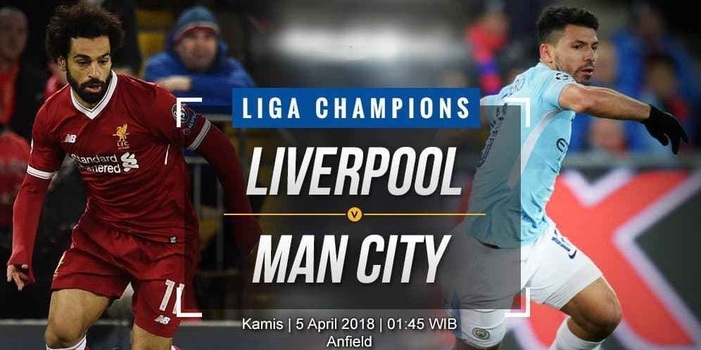 Prediksi Bola Liga Inggris Liverpool Vs Manchester City
