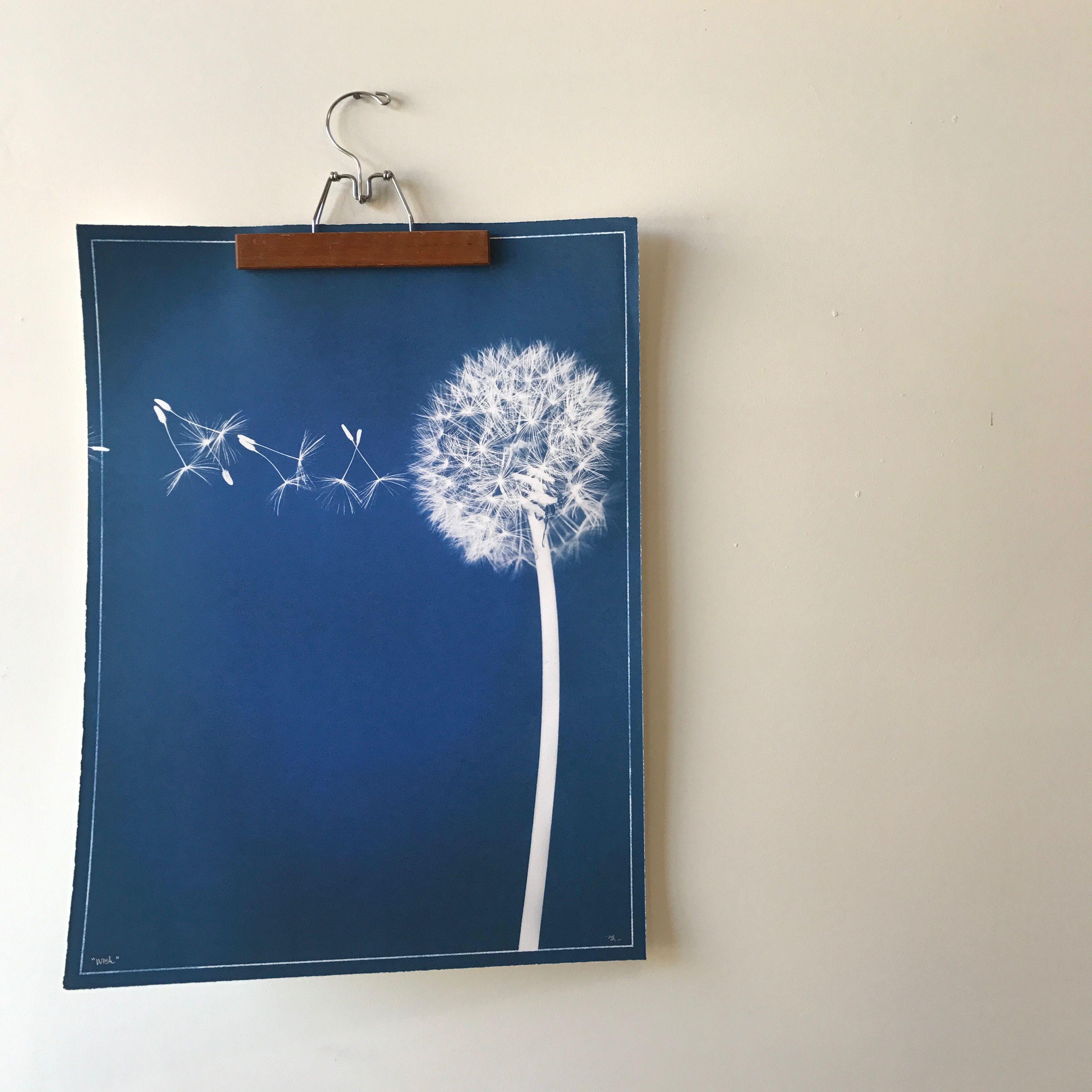Wish print on blueprint paper by barloga studios studio and products wish print on blueprint paper by barloga studios malvernweather Choice Image
