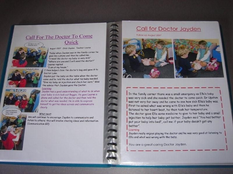 Profile books, We will keep a profile book of your childu0027s - phone book example