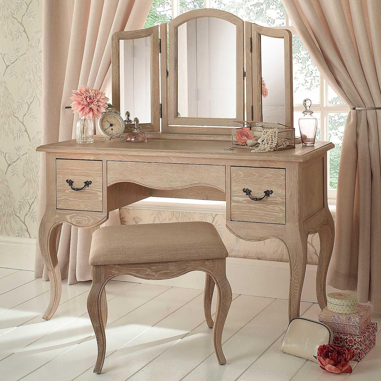 Best Renaissance Limed Oak Dressing Table Painel Semantico 400 x 300